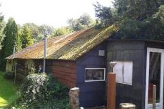 Renovatie van een dak te Harskamp
